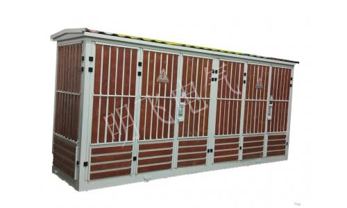 景观式箱式变电站|镶木条箱变壳体