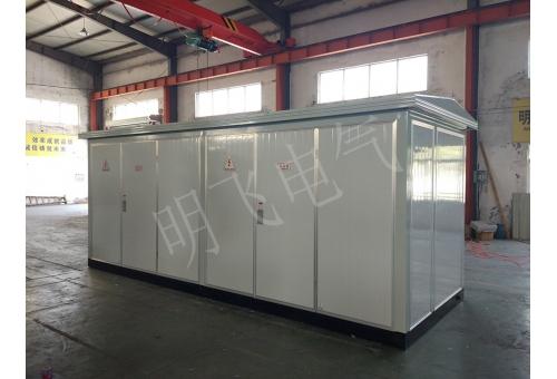 箱式变电站、欧变壳体、欧式箱变、彩钢复合板